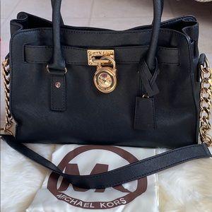 Michael Kors Hamilton Satchel Bag